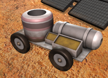 Nuclear Power Vehicle